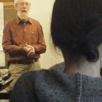 Peter Bane guest lecturing